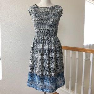 Max Studio- Sleeveless Floral Dress